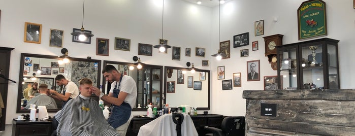 Tommy Gun Barbershop is one of Lieux qui ont plu à Ilona.