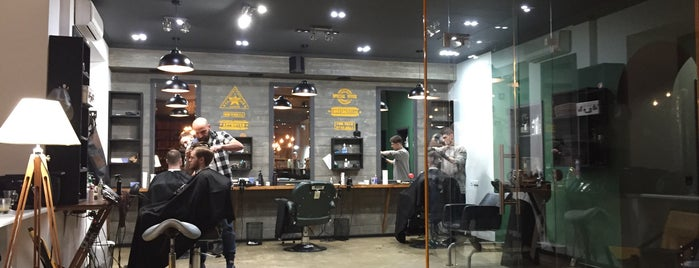 BARBOSS barbershop & tattoo is one of Ronaldさんのお気に入りスポット.