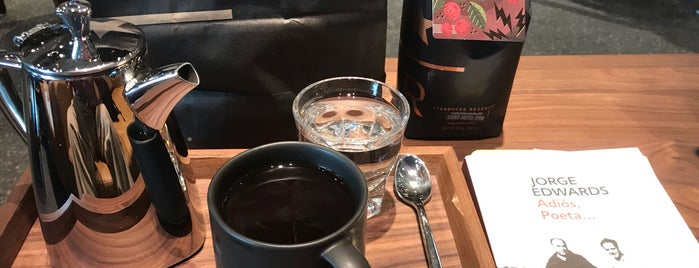 Starbucks Reserve Bar is one of Tempat yang Disukai Monica.