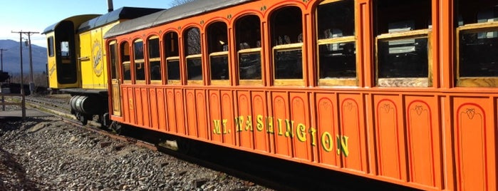 The Mount Washington Cog Railway is one of Because Foursquare F*cked Up Their List Feature 2.