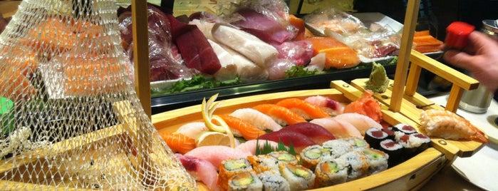 Mahzu Sushi Bar & Restaurant is one of Restaurants.