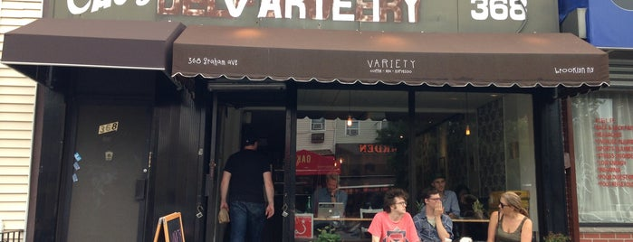 Variety Coffee Roasters is one of NYC coffee shops to try.