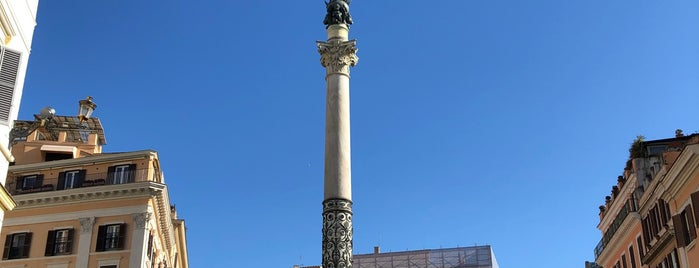 Colonna dell'Immacolata is one of Europe 5.