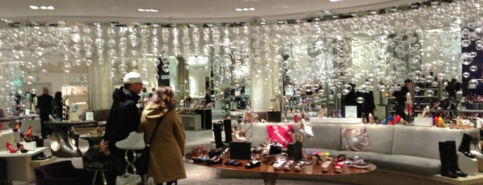 Saks Fifth Avenue-Shoe is one of Best of NY for Locals.