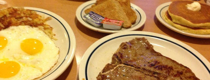 IHOP is one of Places I Go....