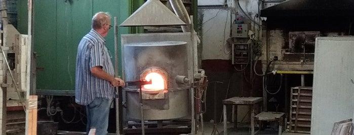 Fornace Ellegi glass is one of Posti che sono piaciuti a DINCANTO.
