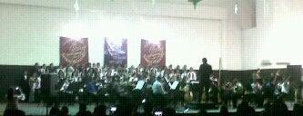 """Teatro """"Luis Gilberto Mendoza"""" Unidad Vecinal is one of San Cristobal Tachira."""