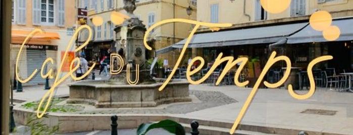 Café Du Temps is one of Provence France.
