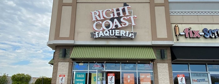 Right Coast Taqueria is one of NYC & Long Island.