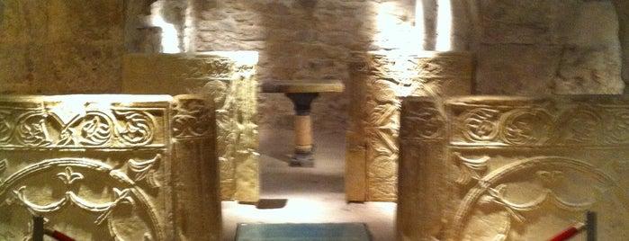 Cripta San Vicente Martir is one of Posti salvati di Katya.