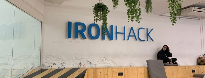 Ironhack Campus is one of Lieux qui ont plu à jordi.