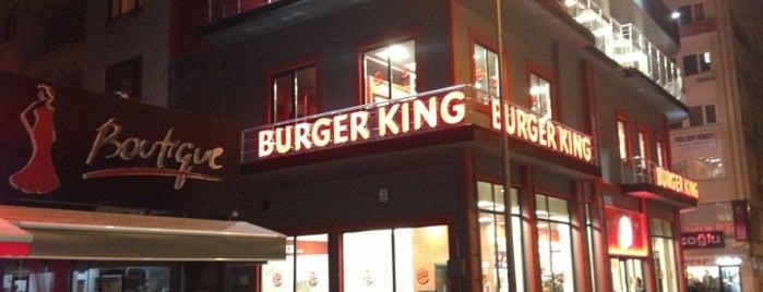 Burger King is one of Orte, die Selim gefallen.