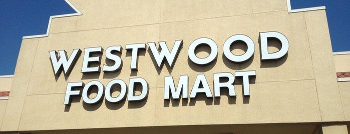 Westwood Food Mart is one of Tempat yang Disimpan Liz.