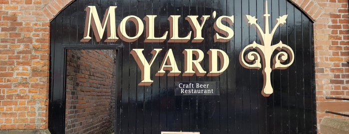 Molly's Yard is one of Never been.