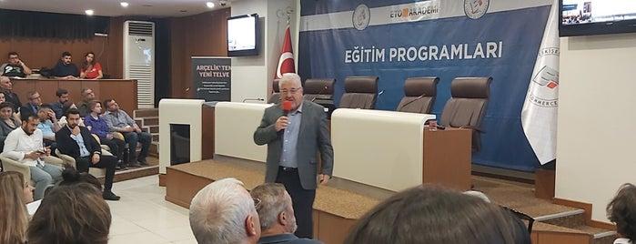 Eskişehir Ticaret Odası is one of gezmece.