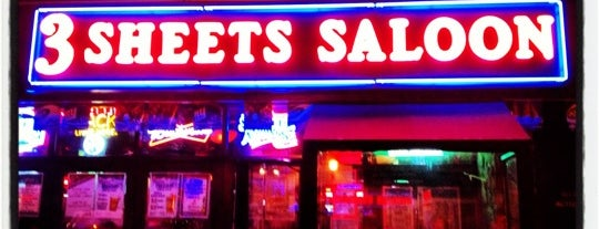 3 Sheets Saloon is one of Places to drink alcohol.