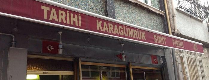 Tarihi Karagümrük Simit Fırını is one of Fatih.