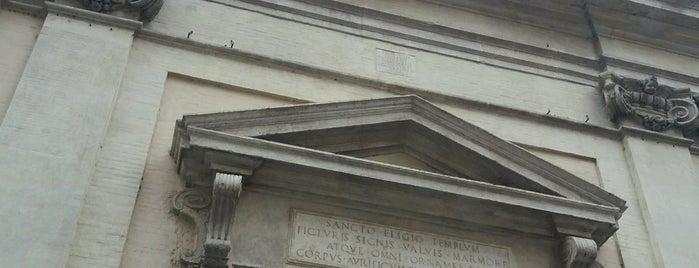 Chiesa di Sant'Eligio degli Orefici is one of Rome / Roma.