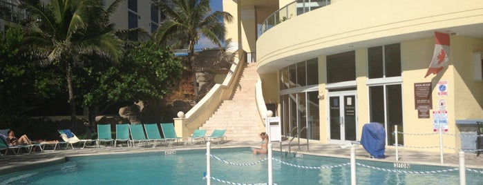 DoubleTree by Hilton Ocean Point Resort & Spa - North Miami Beach is one of Hoteles donde estuve.