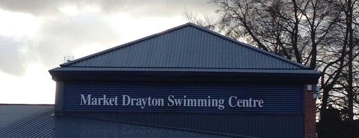 Market Drayton Swimming Centre is one of สถานที่ที่ Alex ถูกใจ.