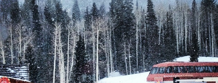 Red Pine Lodge is one of Lugares favoritos de Joe.