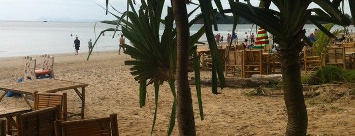 Klong Dao Beach is one of Go to Lanta. Be Bamboocha..