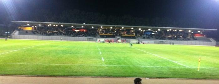 Stade Maurice David is one of 'Stadium Talk'....