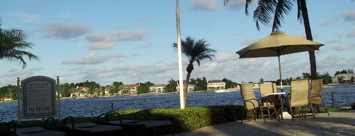 The Yacht Club on the Intracoastal is one of My Favorite Beach Clubs.