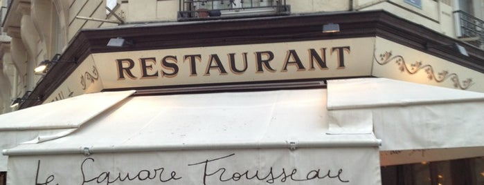 Le Square Trousseau is one of restos.