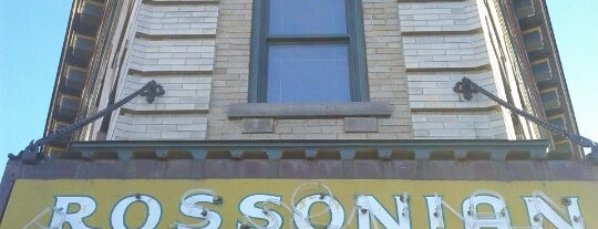 The Rossonian Hotel is one of Denver.
