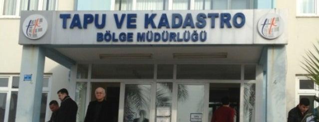 Antalya Tapu Müdürlüğü is one of Orte, die Merve gefallen.