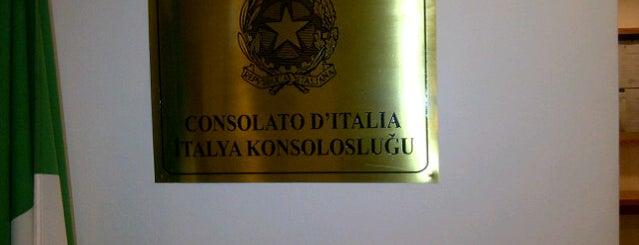 İtalya Konsolosluğu is one of like.