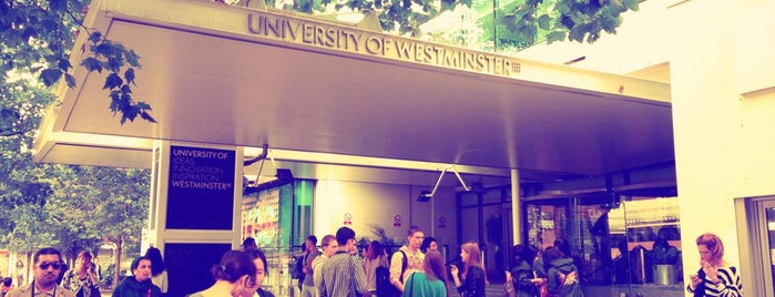 University of Westminster is one of Henry'in Beğendiği Mekanlar.