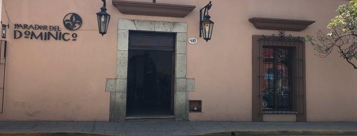Parador Del Dominico Hotel Oaxaca is one of Gespeicherte Orte von Naia.