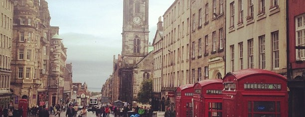 The Royal Mile is one of Edinburgh - to do.