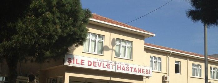 Şile Devlet Hastanesi is one of Tempat yang Disukai Murat.