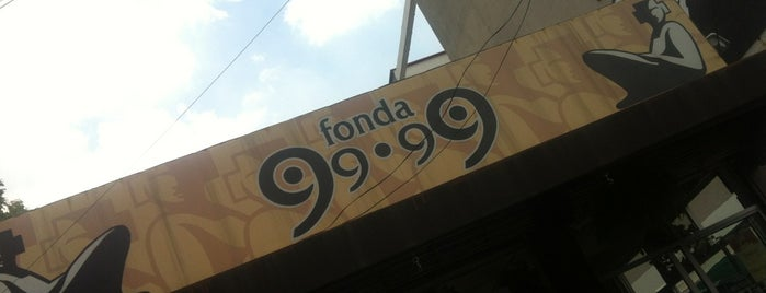 Fonda 99.99 is one of Restaurantes caseros (Chilango, Mayo 2012).