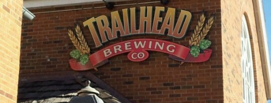 Trailhead Brewing Co. is one of Locais salvos de Brent.