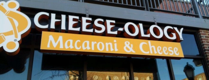 Cheese-ology Macaroni & Cheese is one of Lieux sauvegardés par Zack.