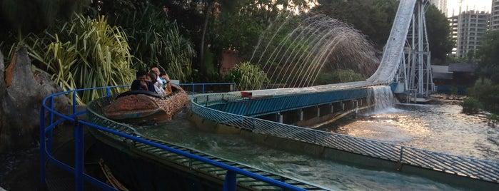 Wahana niagara is one of Dunia Fantasi.