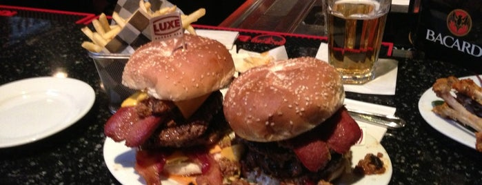 Luxe Burger Bar is one of Rhode.