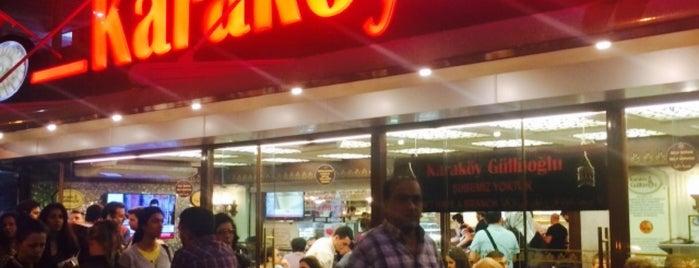 Karaköy Güllüoğlu is one of Istanbul.