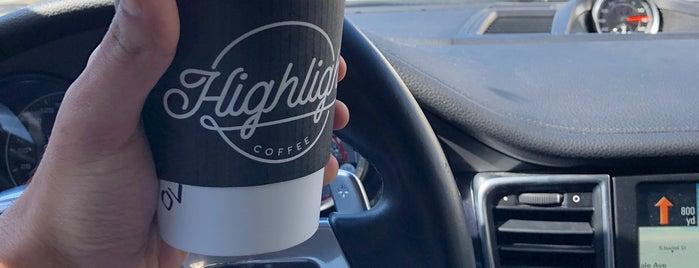 Highlight Coffee is one of Posti che sono piaciuti a Lara.