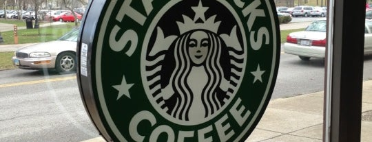 Starbucks is one of Kent State.