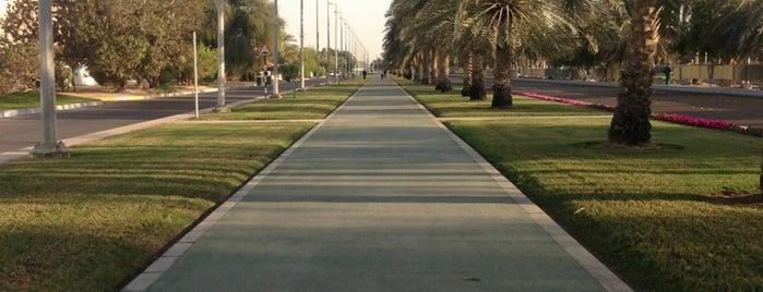 The Walk AD الممشى is one of Locais salvos de SERA.