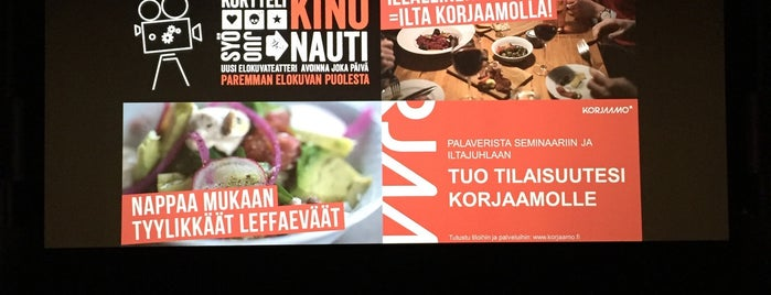 Korjaamo Kino is one of Europe To Do List.