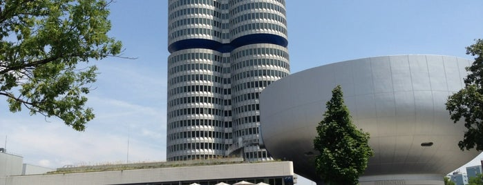 BMW Museum is one of Munique.