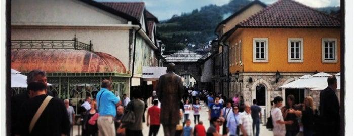 Andrićgrad is one of Lieux qui ont plu à Ivan.