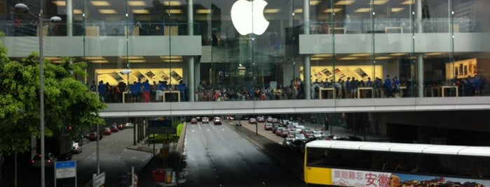 Apple ifc mall is one of Hong Kong.