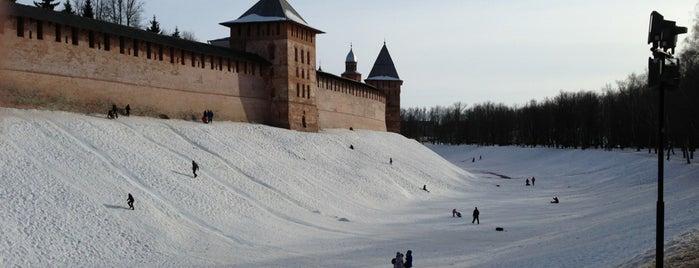 Новгородский Кремль is one of UNESCO World Heritage Sites in Eastern Europe.